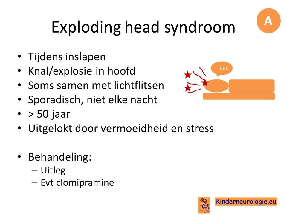 hoofdpijn krijgen tijdens slapen